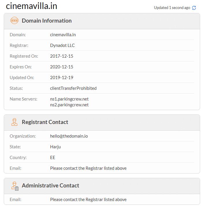 cinemavilla.in details