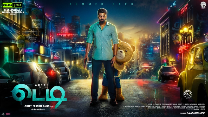 Teddy Download leaked by Isaimini Tamilrockers
