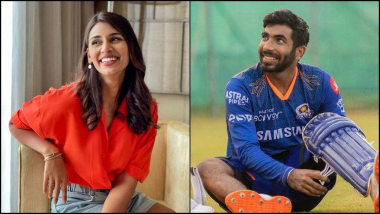 Indian Cricketer Jasprit Bumrah