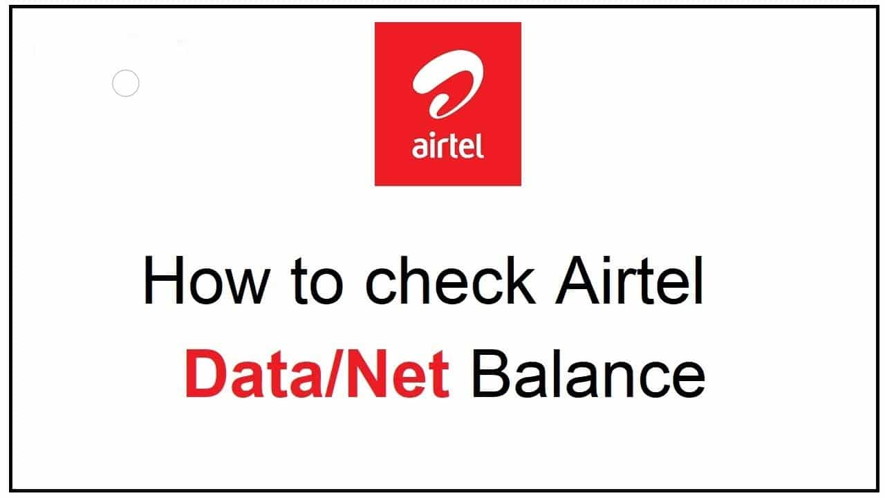 airtel data balance check