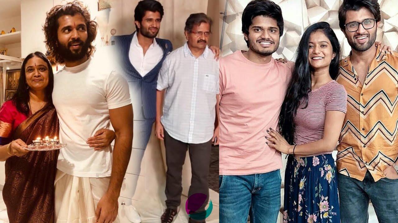 Vijay Deverakonda Family Photos