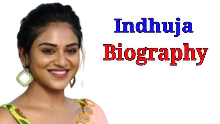 Indhuja Ravichandran Wiki