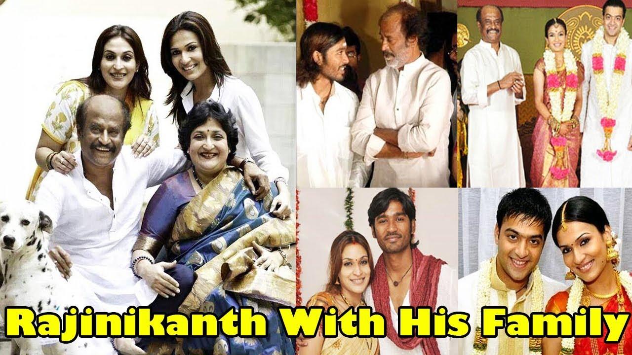 Rajinikanth Family pictures