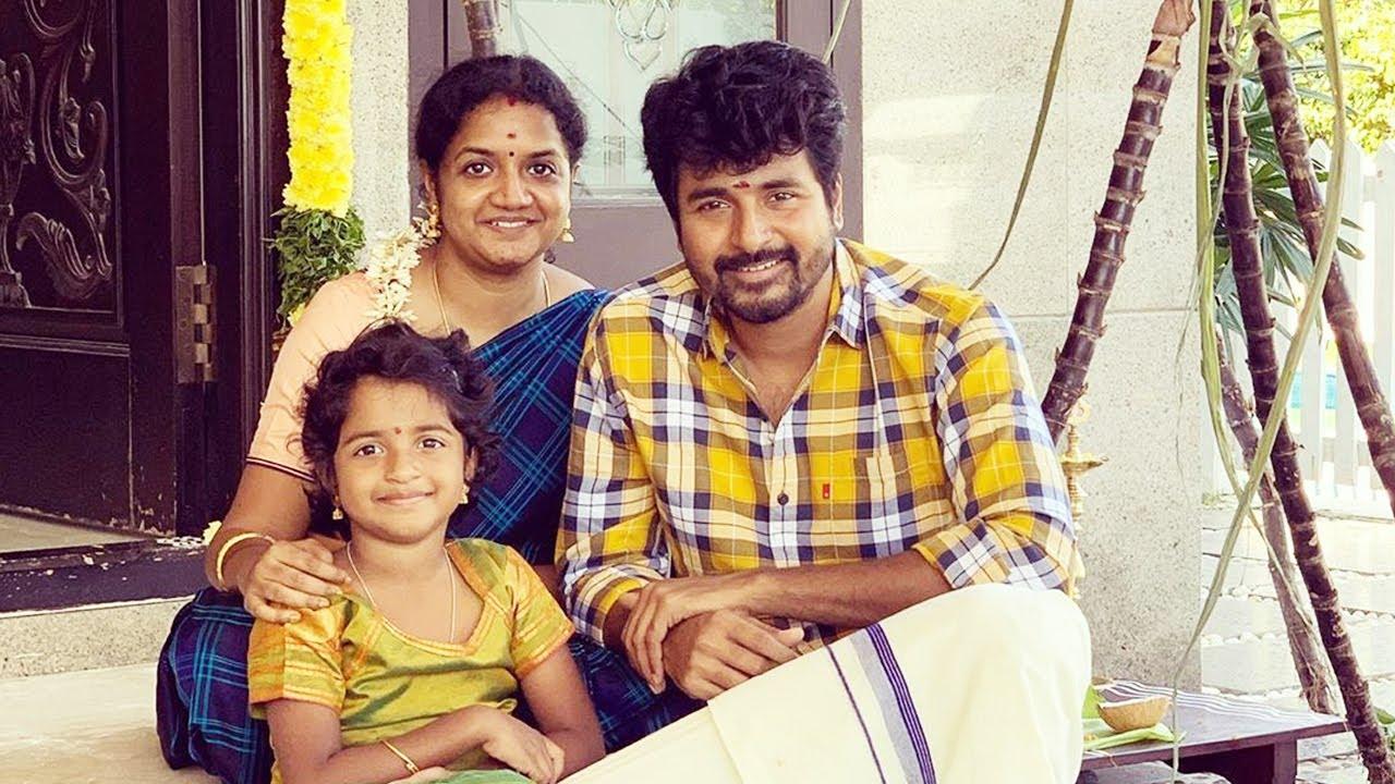 Sivakarthikeyan family photos