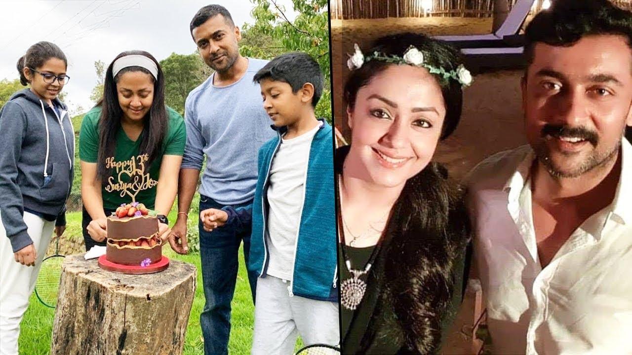 Surya Jyothika Family Photos